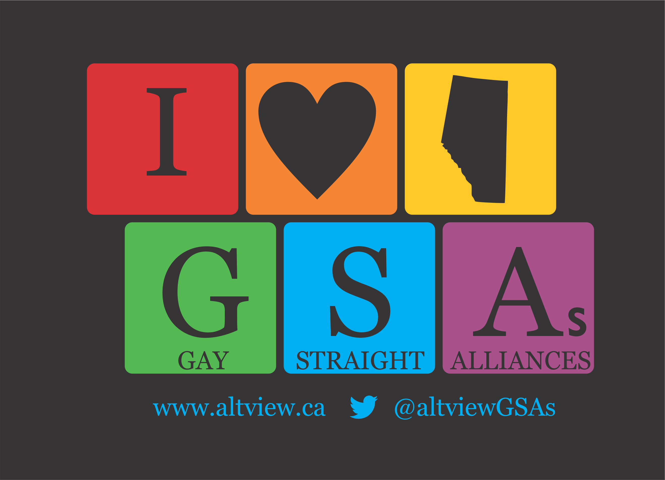 Support Rural GSAs – Get your I Heart Alberta GSAs T-Shirt today