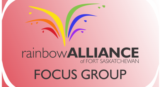 Rainbow Alliance (Fort Saskatchewan Youth Group) Focus Group