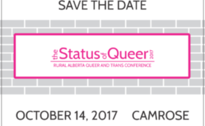 Announcement! Status of Queer Conference 2017