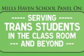 Mills Haven School Panel on Serving Trans Students