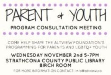 Parent & Youth Program Consultation Meeting
