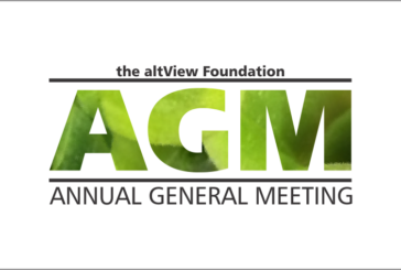 Save the Date for altView's AGM