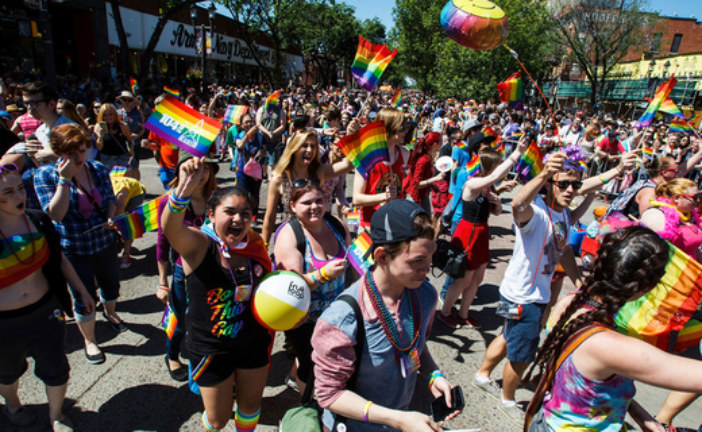 Strathcona County and Edmonton Pride Parade