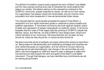 altView Supports Black Lives Matter